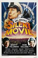 SILENT MOVIE Movie POSTER 27x40 Mel Brooks Marty Feldman Dom DeLuise Burt