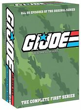 G.I. GI Joe: A Real American Hero Complete Series Seasons 1 2 3 4 Boxed DVD Set