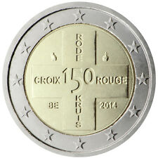 Belgium 2014 - 2 Euro Commemorative - 150 Years of the Belgian Red Cross (UNC)