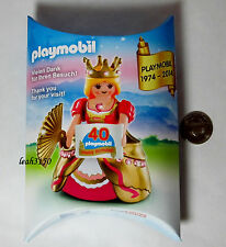 Playmobil Figure Princess Queen 2014 New York Toy Fair 40th Birthday Special