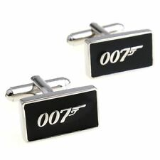 007 James Bond Cufflinks LUXURY GIFT BOX Novelty Cool Men's Funny Cuff-links