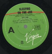 "GILLAN   DEEP PURPLE Rare 1980 Oz Only 7"" Festival Single ""Sleeping On The Job"""