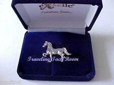 Show Horse Fashion Pin in Platinum Plate - NIB