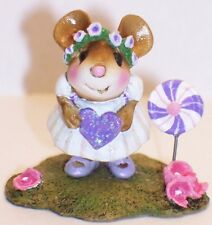 Wee Forest Folk Special Color Petit Four White Attendee WFF