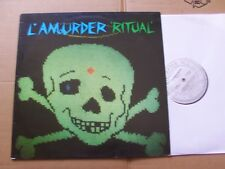 L´AMOURDER,RITUAL lp m-/vg poko/fun after all records England 1986