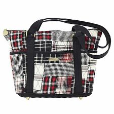 "Victorian Heart Bella Taylor ""Kennedy"" Shopper 22860 Quilted Handbag Purse New"