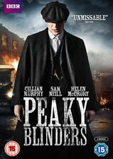 Peaky Blinders Series 1  (DVD, 2013, 2-Disc Set, BBC Box Set)