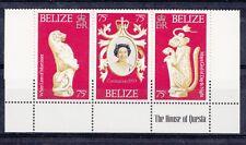Belize 1978 incoronazione Elisabetta II trittico 394-96  MNH
