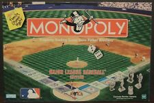 Monopoly Major League Baseball Edition MLB 1999 2-8 players pewter tokens 41901