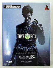 "In STOCK ""Joker"" DC Comics (Batman Arkham Origins) Play Arts Kai Action Figure"