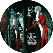 Nightmare Before Christmas MOVIE SOUNDTRACK Elfman NEW VINYL PICTURE DISC 2 LP