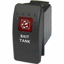 Rocker switch 736 red 12V BAIT TANK angling fishing aerator pump