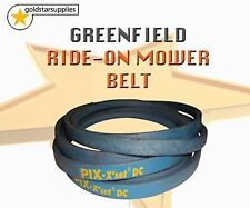 Ride on mower BELT for a GREENFIELD fastcut ground drive ( around drive discs)