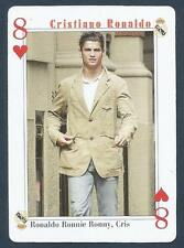 PLAYING CARD-FAR EAST ISSUE-CRISTIANO RONALDO-MANCHESTER UNITED-REF #8H