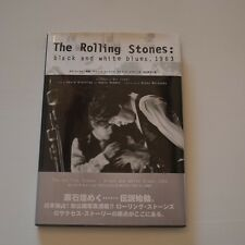 ROLLING STONES - BLACK AND WHITE BLUES 1963 - JAPAN BOOK 1998 PRESS