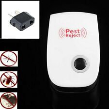 Electronic Ultrasonic Anti Mosquito Insect Mouse Pest Repellent Repeller AU IM