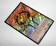 The Creator God of Light, Horakhty v3 YUGIOH orica SECRET RARE altered art proxy
