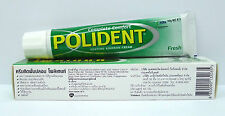 Polident 60g Denture Adhesive Cream Glue Complete Comfort Teeth Gums Fresh x1