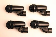 4 KAM ST2 drum mic kit 2015 model-wider frequency response than pg56 and beta 56