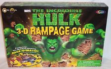 MARVEL THE INCREDIBLE HULK 3-D RAMPAGE GAME - 100% COMPLETE - 2003 - EXC COND