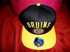 BOSTON BRUINS 6 TIME Champions (STANLEY CUPS) BLACK &GOLD SNAPBACK CAP OSFA $55