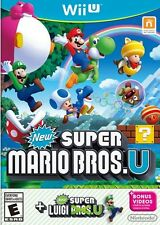 Nintendo Wii U New Super Mario Bros U + Super Luigi U NEW SEALED USA Game