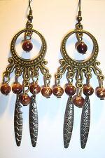 Large Long Indian~Asian Ethnic Boho Chandelier Earrings~ER106~uk seller~