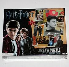 HARRY POTTER Fantasy Movie Novel SCRAPBOOK COLLAGE 1000 Pcs JIGSAW PUZZLE New