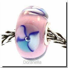 Authentic Trollbeads Glass 61197 Pink Bead :0 RETIRED