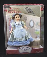 "When I Read I Dream: Jo ""Little Women"" Mattel Toys Timeless Treasures - NIB Doll"