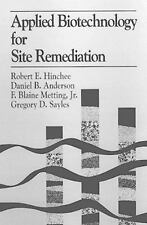 Applied Biotechnology for Site Remediation, Battelle Memorial In, New Book