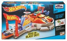Hot Wheels Fast Blast Car Park – Launch Up To 6 Cars New & Sealed