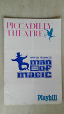 PICCADILLY THEATRE:1967 PAYBILL PROGRAMME - MAN OF MAGIC