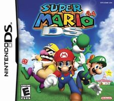 Nintendo Super Mario 64 DS Game Card Working with DS, DS Lite, DSi, 3DS