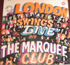 """Jimmy James & The Alan Bown Lp """" LONDON SWINGS LIVE AT THE MARQUEE CLUB  """" PYE"""