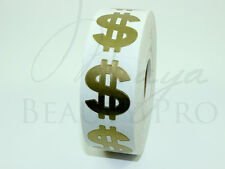 Roll of 1000 BLING DOLLAR Tanning Sticker Scrapbooking Tanning Bed Tattoo