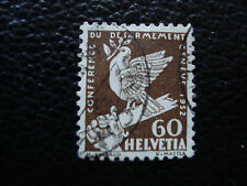 SUISSE - timbre yvert et tellier n° 258 obl (A20) stamp switzerland