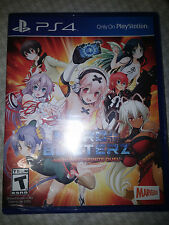 PS4 Nitroplus Blasterz: Heroines Infinite Duel Game |NEW SEALED Playstation 4