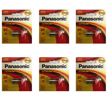 6 Pcs Panasonic CR-2 KCR2, CR2, ELCR2 3V Lithium Battery, RETAIL PACKAGING