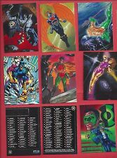 1994 SKYBOX DC COMICS MASTER SERIES Complete Your Set U pick 4 cards NM to Mint