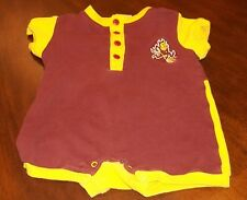Unisex Baby Bodysuit Size 3-6 Months Arizona State University Sun Devils