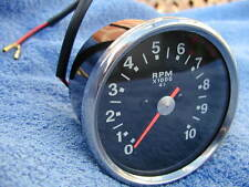 new TRIUMPH 650/750 TACHO 1970-1978 black face+casing+BULB+HOLDER-4:1 TACHOMETER