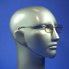 Computer Reading Glasses Lightweight Pewter Metal Frame Aspheric Lens +1.00