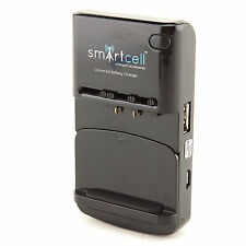 Smart Cell Universal Battery Charger for HTC Amaze 4G; Sensation XE; HD2