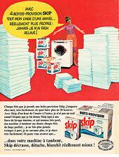PUBLICITE ADVERTISING 044  1966  SKIP   lessive