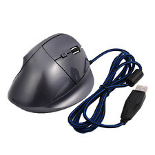 5D USB Ergonomic Vertical Wrist Healing Optical Wired Mouse Mice 1600 DPI for PC