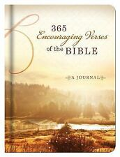 365 Encouraging Verses of the Bible Journal by Barbour Publishing Staff...
