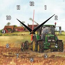 N ° 332 John Deere 6920 Tractor Sue podbery Reloj De Pared Hecho A Mano Regalo Presente