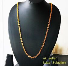 Gold plated chain Indian elegant chain/necklace JEWELRY sets  U28  28 in