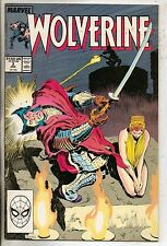 Marvel Comics Wolverine #3 January 1989 Silver Samurai VF+